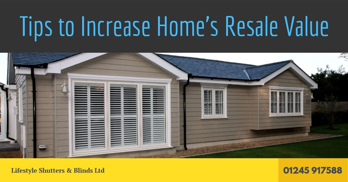 Tips to increase home 39 s resale value what adds value to for Increase value of home