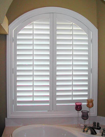 Angled Window Shutters Essex