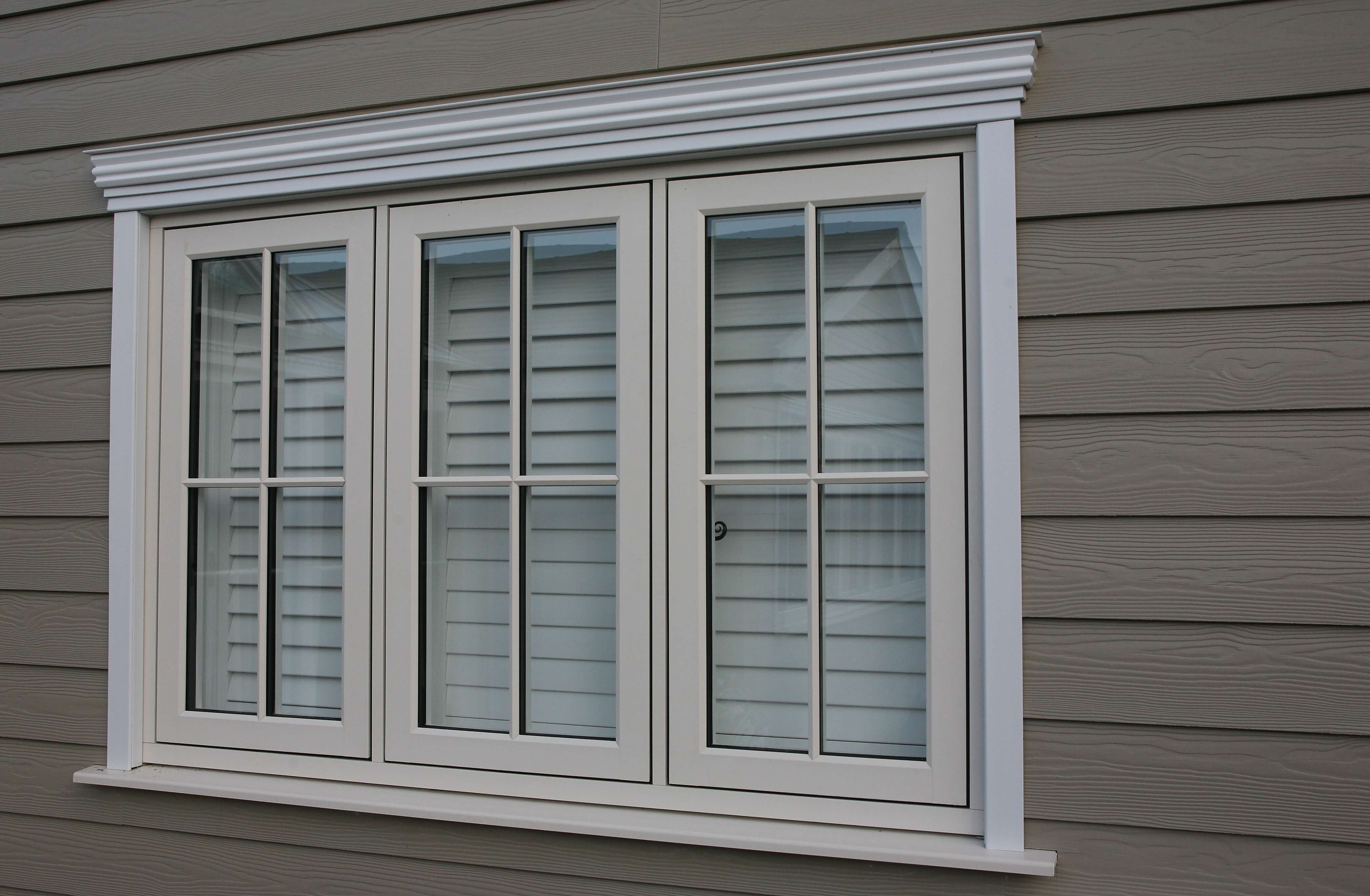 White shutter blinds braintree