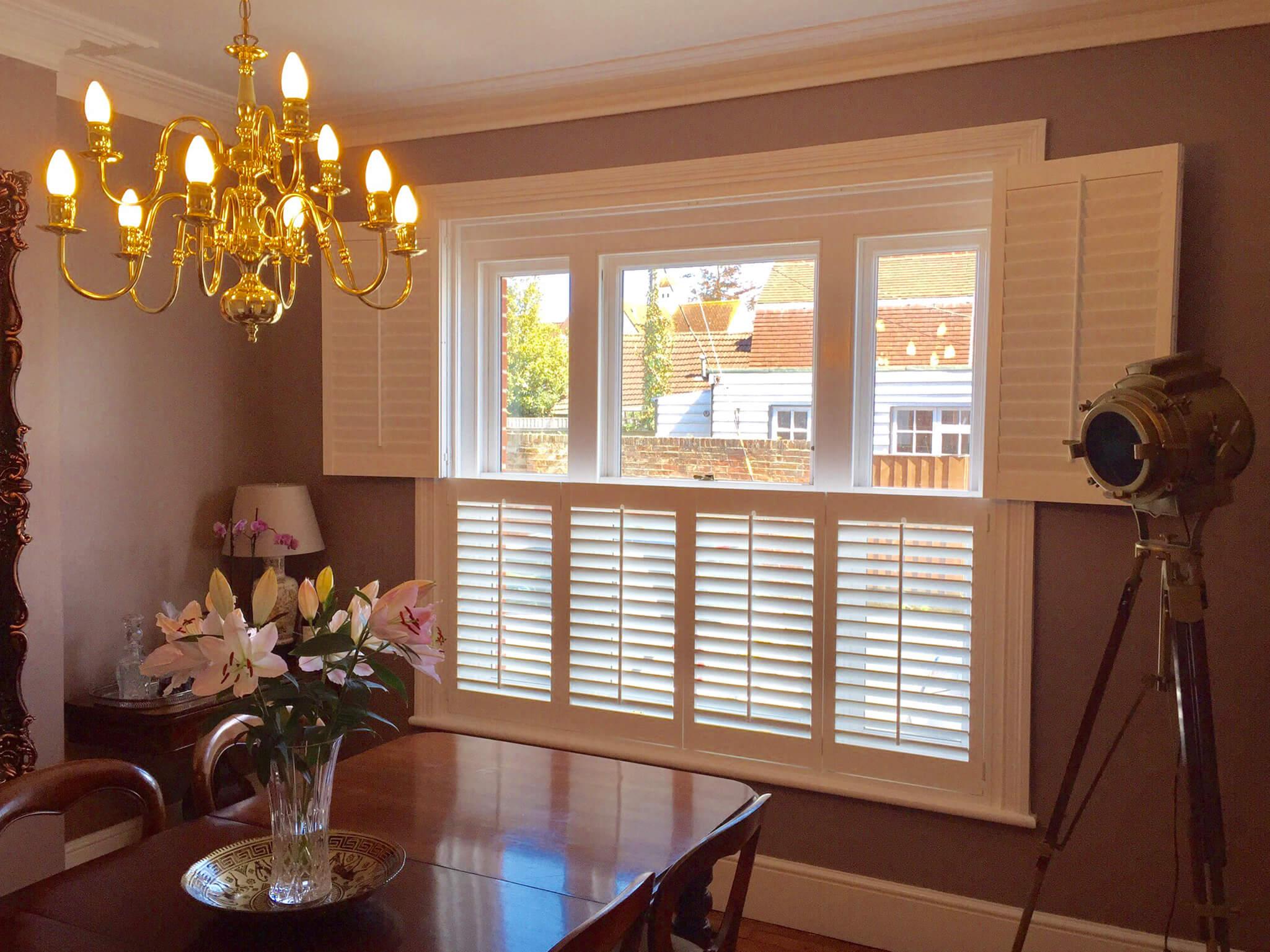 Home shutter gallery tier on tier shutters tier on tier shutters - Tier On Tier This Is The Most Versatile Design Of Window Shutters