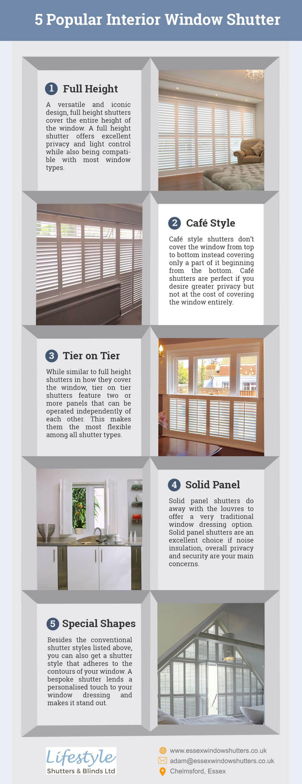 Window Shutter Styles