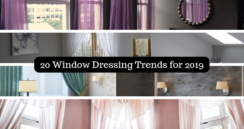 20 window dressing trends for 2019 blinds curtains and - Window treatment trends 2019 ...
