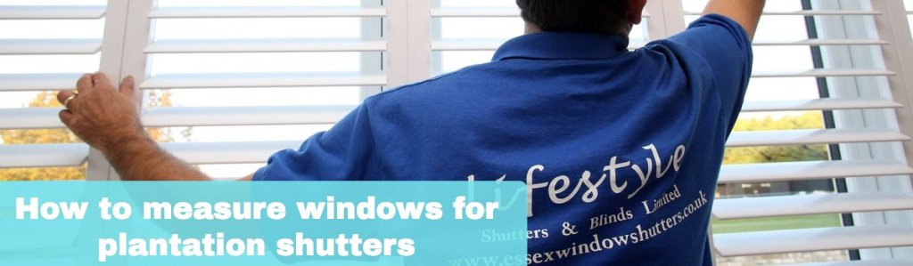 How to measure windows for plantation shutters