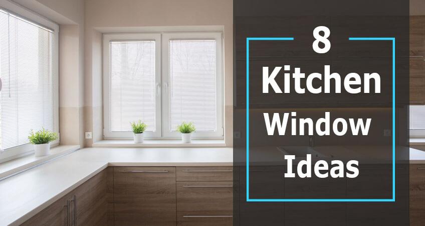 8 Kitchen Window Dressing Ideas - Lifestyle Shutters ...